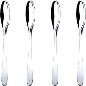 Alessi WA10/35S4 Eat. it cucharas para Latte Macchiato acero inoxidable brillante 19 x 3 x