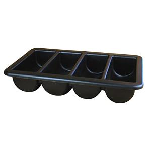 "Nextday Catering Equipment Supplies nev-cb1 "" 1-BLK bandeja de cajón para cubiertos/caja,"