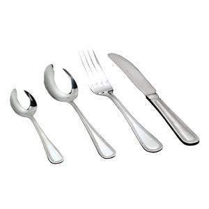 paquete de 12 Jesmond patr/ón Nextday Catering Equipment Supplies nev-ss-jm sopa cuchara