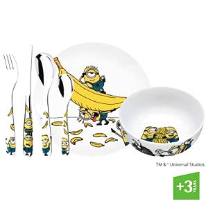 WMF 1286079964 Kids cutlery set MIONS 6pc, Cerámica, Multicolor