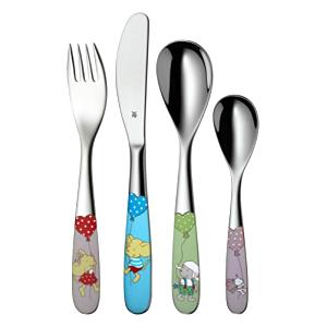 WMF Lillebi & Friends Toddler cutlery set Multicolor, Acero inoxidable Acero inoxidable - toddler