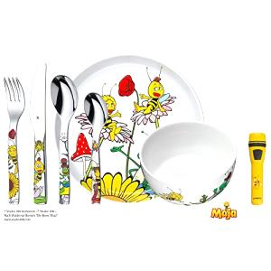 WMF MAJA THE BEE Toddler cutlery set Multicolor Acero inoxidable - Cubiertos para niños (Toddler